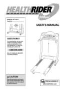 Healthrider 500 sel treadmill manual.
